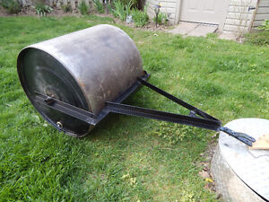 Steel Lawn roller, Pull behind 24 inch Dia.