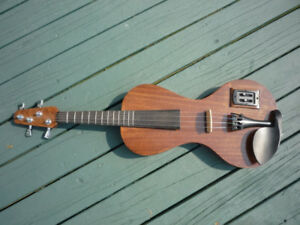 ELECTRIC FRETTED VIOLIN