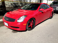 2006 Infiniti G35 Coupe BC Car Mint Condition-Best one on Kijiji