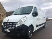 2012 62 RENAULT MASTER 2.3 DCI LM35 MEDIUM ROOF FWD LWB WHITE