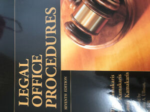 Legal office procedures seventh edition