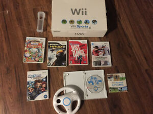 Wii w games sell/trade