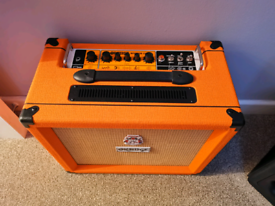 ORANGE ROCKER 15 GUITAR AMPLIFIER AMP CABINET 22 MONTH WARRANTY AS NEW