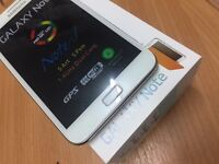 samsung galaxy note 16gb unlocked white with box and charger like new refurbished no offers