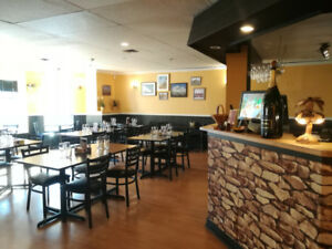Down town big and nice restaurant for sale (cheap rent)