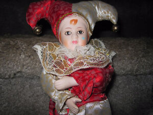 Rare Collection Of Hand-Painted Porcelain Dolls--VERY NICE