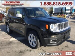 2018 Jeep Renegade Limited  - Leather Seats -  Heated Seats