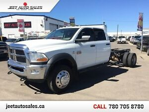 2011 Dodge Ram 5500HD Chassis Cab SLT CrewCab 6-Speed Manual Tra