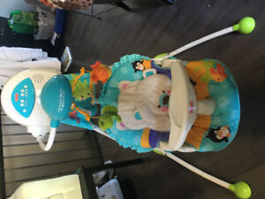 Fisher price precious planets swing