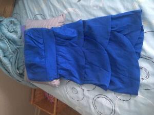Robe bleu bal