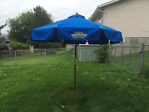 Twisted Tea Patio Umbrella
