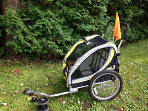 2 seater Bicycle Trailer / Stroller