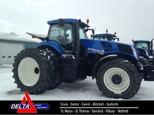 2012 New Holland T8.360 MFWD Tractor London Ontario image 1