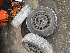 Tires with rims