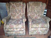 2 Parker Knoll armchair