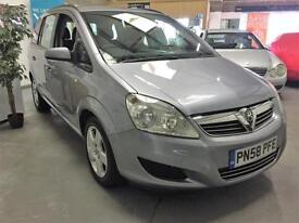 2008 58 Vauxhall Zafira 1.6 16v Exclusive 7 Seater