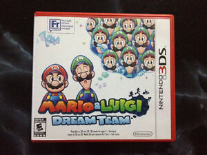 Mario & Luigi Dream Team pour 3ds