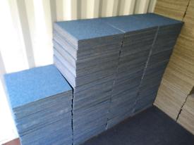 800 BRAND NEW BLUE CARPET TILES 50X50CM ONLY £2.40 INCL VAT