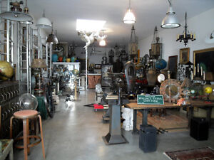 'PARKDALE PICKERS' garage sale - vintage, industrial, rustic