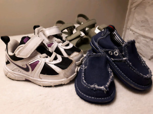Size 5 sneakers, shoes, sandals
