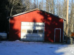 Unheated shop and yard space for rent