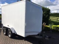 Indespension tow-A-van 6ftx10x6tf box trailer