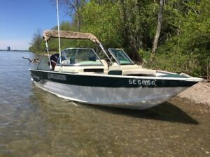 2005 LEGEND V-166 ALL SPORT WITH 50HP 2 STROKE MERCURY