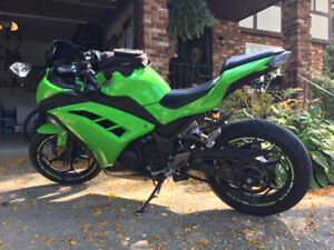 2015 Ninja 300 ABS with lots of goodies
