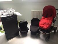 Icandy Apple 2 pear travel system and Maxi cosi car seat
