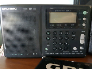 Grundig Yacht Boy 400 am/FM Shortwave Radio