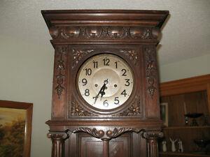Antique German Grandfather Clock Regina Regina Area image 2