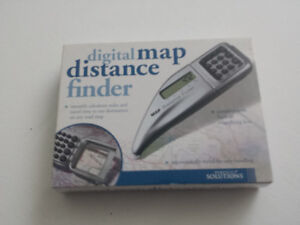 (For PAPER Maps) Electronic Distance/Travel-Time Calculator Tool