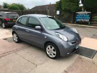 2010 NISSAN MICRA N-TEC 1.2 PETROL, MANUAL, ONLY 73,000 MILES FROM NEW
