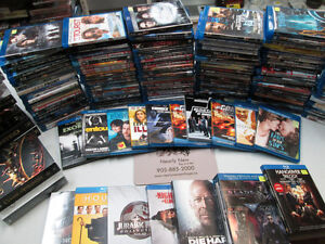 We have an overstock of Bluray movies and also Boxed Sets!