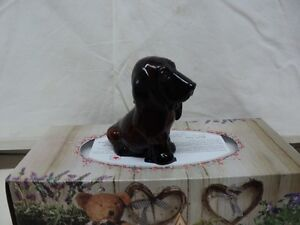 AVON BASSET HOUND DOG DECANTER
