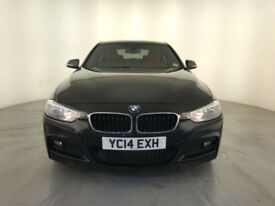 2014 BMW 330D M SPORT AUTOMATIC DIESEL RED LEATHER INTERIOR 258 BHP 1 OWNER