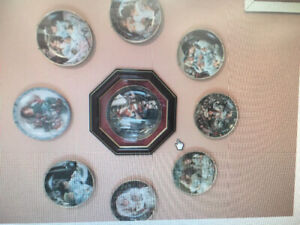 Collector plates by Sandra Kuch