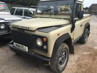 1991 Land Rover Defender 90 200 Tdi, Minor damaged / Salvage