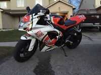 2008 GSX-R 750 in mint condition.