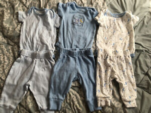 3-6 month outfit sets