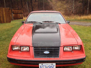 Price reduced for quick sale1983 Mustang GT 5.0   5 speed T roof