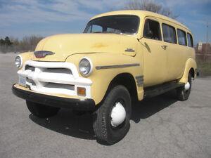 1954 Chevrolet Suburban Coleman 4x4 Interesting Trade Considered