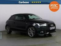 2016 Audi A1 1.4 TFSI 150 Black Edition 3dr S Tronic HATCHBACK Petrol Automatic