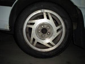Mags Z24 et pneus