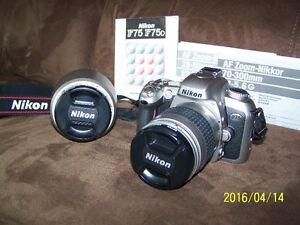 Nikon F75 SLR Camera