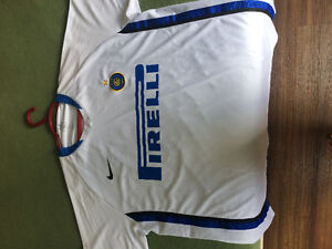 Adriano soccer jersey in Inter Milan