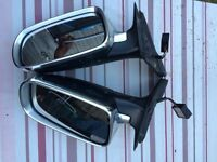 Audi S3 8L chrome mirrors.