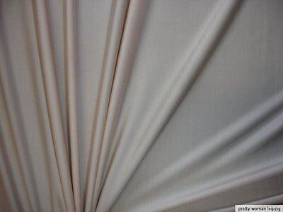 1 Lfm Jersey 2,94€/m²  Trikotstoff mit 24% Elasthan beige MC61