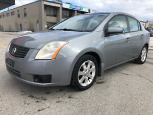 2007 NISSAN SENTRA 2.0 SL (ONLY 153 KM)LEATHER,SUNROOF.BLUETOOTH