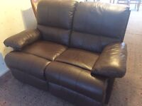 Leather Sofa Recliner - Two Seater
